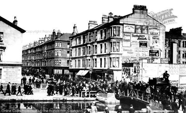 Photo of Clydebank, Singer Sewing Machine Workers, Kilbowie Road c.1900