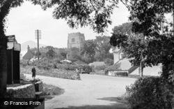 A Peep Through The Trees c.1933, Clynnog-Fawr