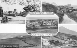 Clynnog-Fawr, Composite c.1955