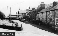 Clynnog-Fawr, Post Office Lane c.1955