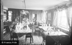 Clynnog-Fawr, St Beuno Hotel, The Dining Room c.1933