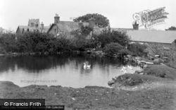 St Beuno Hotel, The Lake c.1933, Clynnog-Fawr