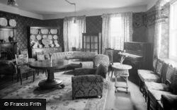 Clynnog-Fawr, St Beuno Hotel, The Lounge c.1933