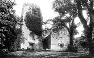 Clynnogfawr, St Beuno's Church 1894
