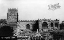 Clynnog-Fawr, St Beuno's Church c.1955