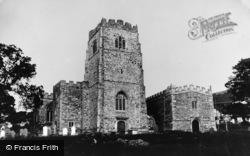 St Bueno's Church c.1910, Clynnog-Fawr