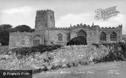 St Bueno's Church c.1955, Clynnog-Fawr