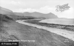 Clynnog-Fawr, The Beach And Rivals c.1955