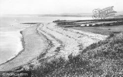 Clynnog-Fawr, The Beach c.1950