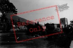 Clynnog-Fawr, The Village And Church c.1955