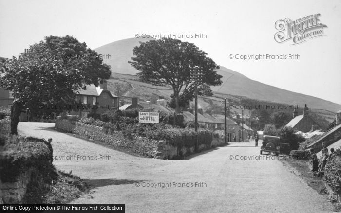 Clynnogfawr, the Village c1955