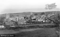 Clynnog-Fawr, The Village c.1950