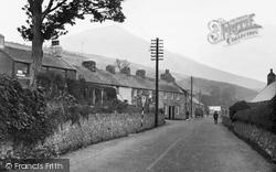 Clynnog-Fawr, The Village c.1955