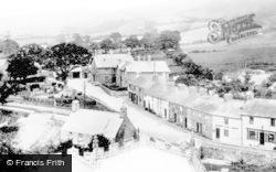 Clynnog-Fawr, The Village From Church c.1955