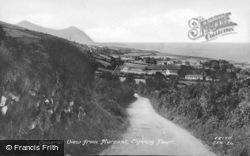 View From Mur Sant c.1955, Clynnog-Fawr