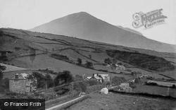 Clynnog-Fawr, View Showing Pwllheli Road c.1936