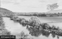 Clyro, The River Wye c.1960