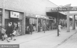 Coalville, Broadway Shopping Centre c.1965