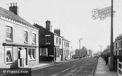 Coalville, Central Road c.1965