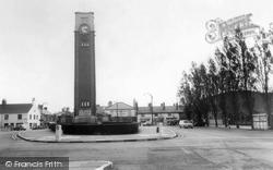 Coalville, Clock Tower c.1965
