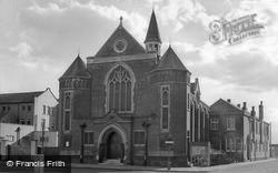 Coalville, Methodist Church c.1965