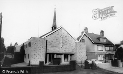 Coalville, Roman Catholic Church c.1965