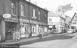Coalville, Shops On Jackson Street c.1965