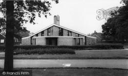 Coalville, St David's Church, Broom Leys c.1960