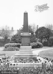 Coalville, The Obelisk c.1955