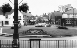 Coalville, The Roundabout c.1965