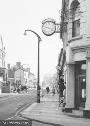 Coalville, Window Cleaning, Belvoir Road c.1965