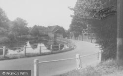 Cobham, A Pretty Corner c.1955