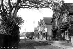 Cobham, High Street 1904