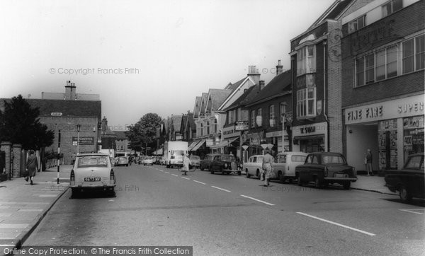 Cobham, High Street, c.1960 Reproduced courtesy of The Francis Frith Collection