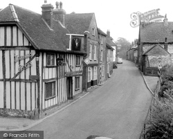 Cobham, Leather Bottle And Street c.1955