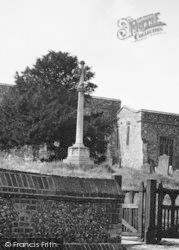 Cobham, Memorial Cross c.1955