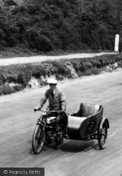Cobham, Motorcycle And Sidecar 1919