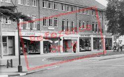 Cobham, Oakdene Parade Businesses c.1960