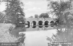Cobham, Pain's Hill Bridge And River Mole 1927