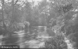 Cobham, River Mole From The Mill 1927