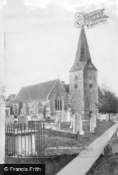 Cobham, St Andrew's Church 1903