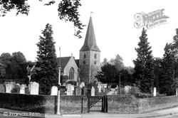 Cobham, St Andrew's Church 1927