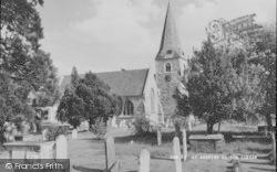 Cobham, St Andrew's Church c.1955