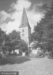 Cobham, St Andrew's Church c.1960