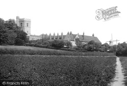 Cobham, St Mary Magdalene's Church 1899