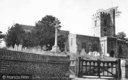 Cobham, St Mary Magdalene's Church c.1955