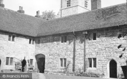 Cobham, The Almshouses c.1955