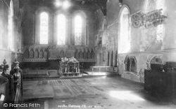 Cobham, The Church Interior 1899