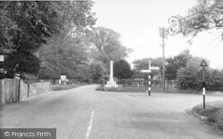 Cobham, The Cross Roads c.1955