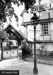 Cobham, The Lychgate c.1955